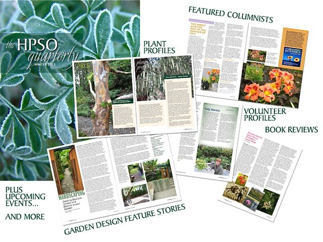 Hardy Plant Society of Oregon Quarterly Magazine