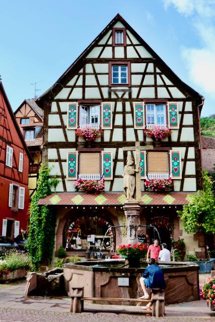 Alsatian house