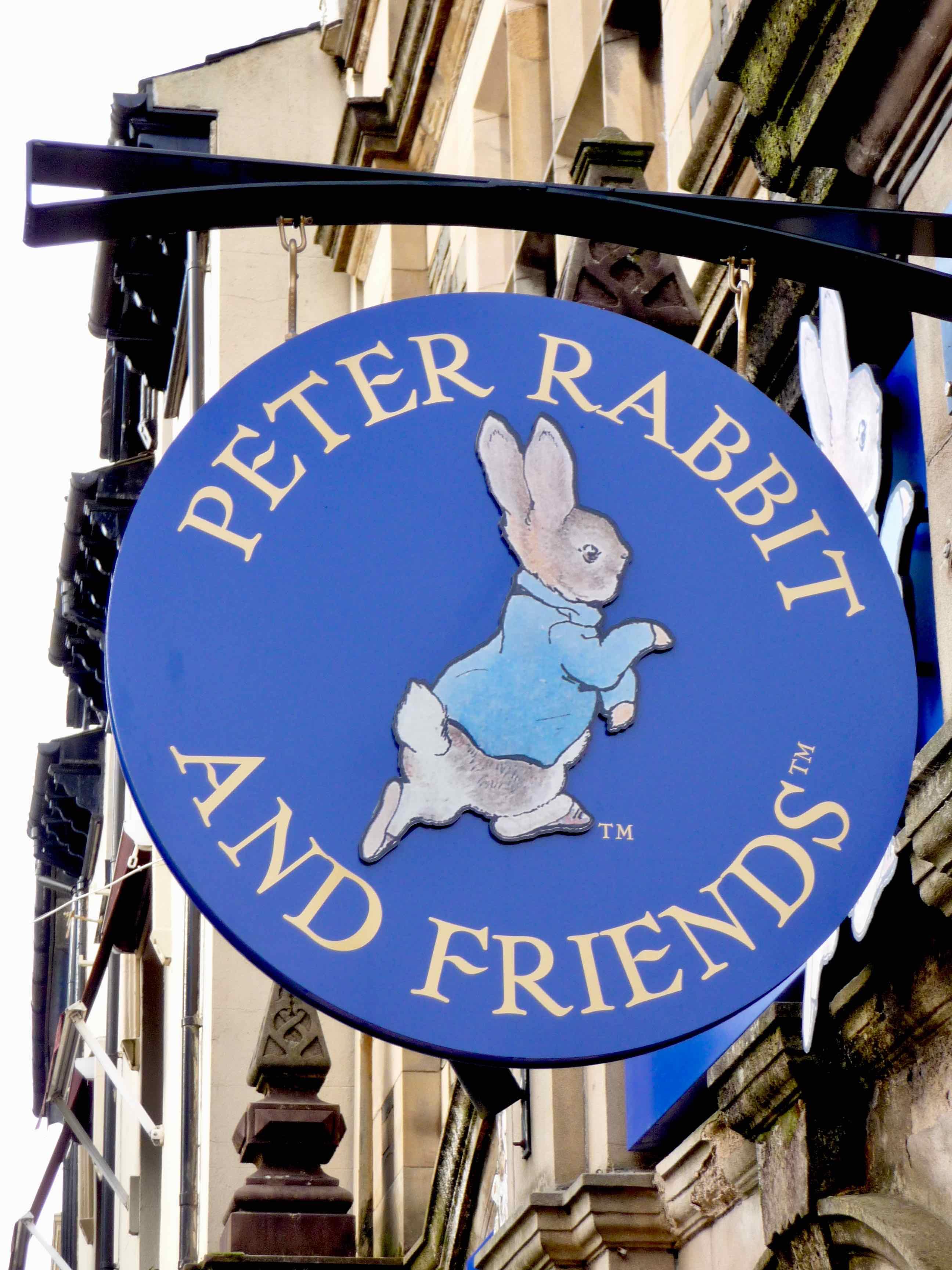 Peter Rabbit shop in Windemere, UK